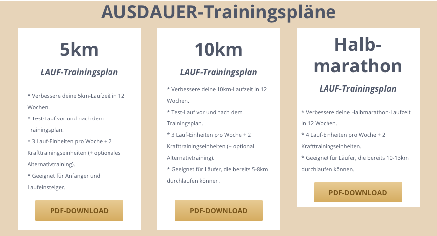 e4s trainingspläne